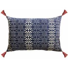 Almofada Azulul Estampada Tassel 30x50cm