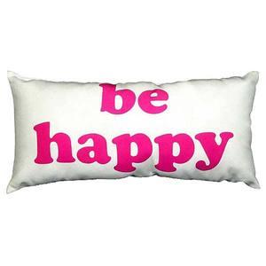 Almofada Be Happy 40X20cm Combinatta
