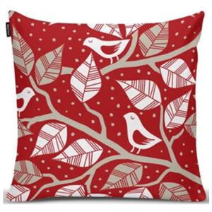 Almofada Birds Vermelha 40x40cm
