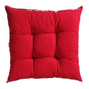 Almofada com Pesponto Vermelho 45 x 45 cm