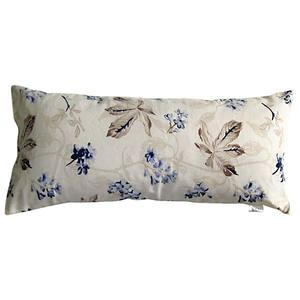 Almofada Cotton Plus Floral Blue/Xadrez Blue 20X45cm Baby On