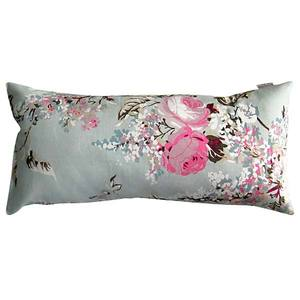 Almofada Cotton Plus Floral Rose/Listras Rose 20X45cm Baby On