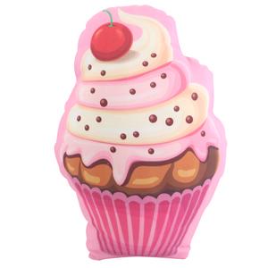 Almofada Cupcake Rosa 33x24cm