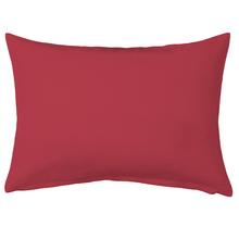 Almofada de Algodão Vermelha 30x50cm