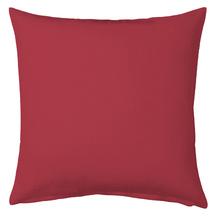 Almofada de Algodão Vermelha 45x45cm