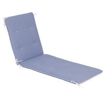 Almofada Espreguiçadeira Confz Azul 180x60cm