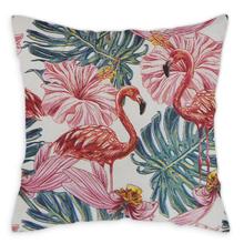 Almofada Flamingo 47x47cm