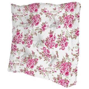 Almofada Futon Gabana Rosas Pink 40X40cm Damata