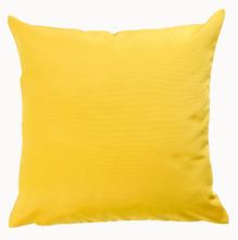 Almofada Gorgurão Amarela 45x45cm