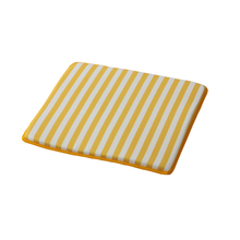 Almofada Jardim Poliéster Stripes Amarelo 40x40cm