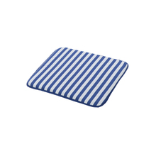 Almofada Jardim Poliéster Stripes Azul 40x40cm