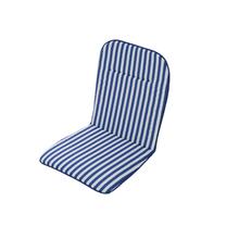 Almofada Jardim Poliéster Stripes Azul 45x88cm 2 unidades