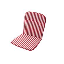 Almofada Jardim Poliéster Stripes Vermelha 45x88cm  2 unidades