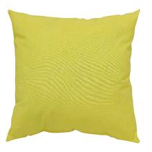Almofada Jardim Tecido Hidrorepelente Amarelo 60x60cm