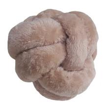 Almofada Nó Pêlo Rosa 36cm