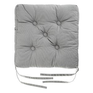 Almofada para Assento Cléa Cinza 40x40cm