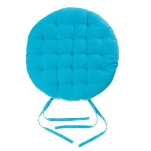 Almofada para Assento Cléa Laços Azul 40x40cm