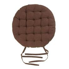 Almofada para Assento Cléa Laços Marrom 40x40cm