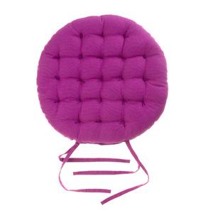 Almofada para Assento Cléa Laços Roxa 40x40cm