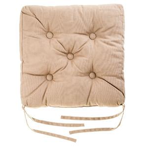 Almofada para Assento Cléa Taupe 40x40cm