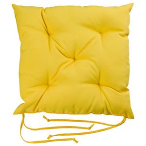 Almofada para Assento Roma Amarela 43x43cm