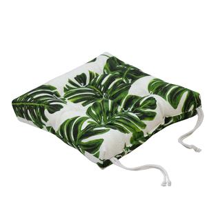 Almofada para Assento Summer Botânico Verde 40x40cm