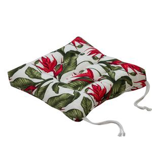 Almofada para Assento Summer Strelizia Verde 40x40cm