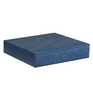 Almofada para Jardim Algodão/Poliéster Mistral Canto/Central Acquablock 60x57cm Lisa Azul Butzke