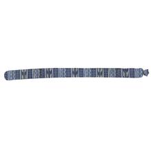 Almofada Peso de Porta Cobrinha Persan Azul 3x83cm