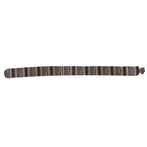 Almofada Peso de Porta Cobrinha Rich Multicolorida 3x83cm