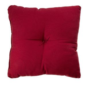Almofada Pesponto Vermelha 40x40cm
