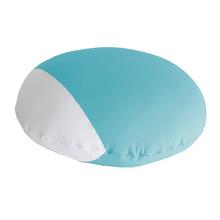 Almofada Playtime Redonda Azul 50x15cm