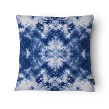 Almofada Símbolo Veludo Azul 43x43cm Inspire