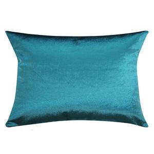 Almofada Veludo Azul Turquesa 40x60cm