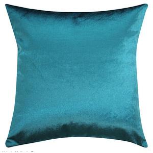 Almofada Veludo Azul Turquesa 60x60cm