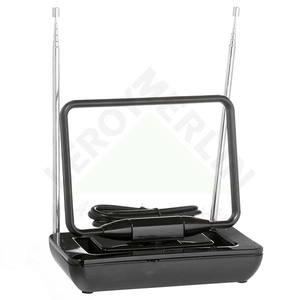 Antena Interna One For All Sv9125 Amplificada 36Db Uhf/Vhf/Hdtv/Fm