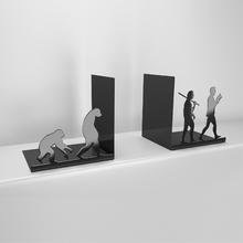 Apoio para Livro 13x13cm Metal Preto Evolução Zamar