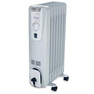 Aquecedor de Ambiente AB1500 Óleo com 7 Elementos de Calefação 3 Níveis Aquecimento Base com Roda 150 x 590 x 320 mm Britânia