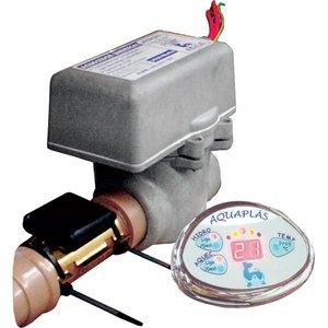 AQUECEDOR P/BANHEIRA HIDROMASSAGEM UNIVERSAL 810010000003 220V 8000W 36,4A 10 POL 8 POL 12,50 POL C/CABO 10,00 MM2 C/ANEL RETENCAO STAMPLAS