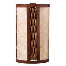 Arandela Articulada 1 Lâmp. E27 Canaleta 15x25cm Marfim e tabaco Art Luz