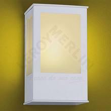 Arandela Bolt Alumínio 20x12,5cm Branca Lustres Ideal