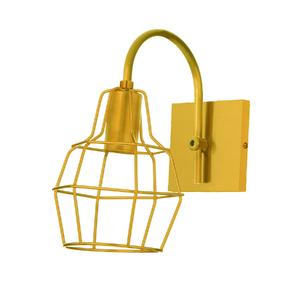 Arandela Dourada Metal Krom Inspire