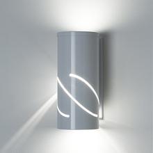 Arandela Exterior Ideal Retangular Metal Branco Bivolt