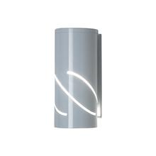 Arandela Externa Branca Metal Flash Ideal