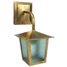 Arandela Externa E27 Ouro Velho Metal Bivolt