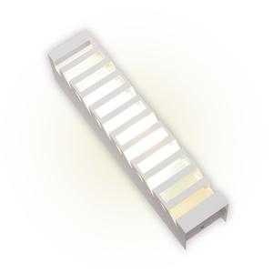 Arandela Externa Felluz Versátil Retangular Alumínio Branco E27