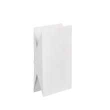 Arandela Externa Germany Klammer Retangular Metal Branco G9 Bivolt