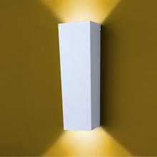 Arandela Externa Ideal Iluminação Bolt Metal Branca Bivolt