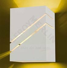 Arandela Flash Alumínio 15x10cm Branca Lustres Ideal