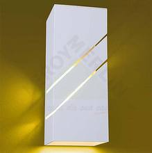 Arandela Flash Alumínio 25x10cm Branca Lustres Ideal